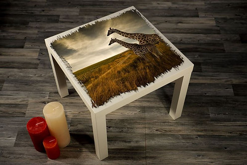Giraffes Printed Coffee Tables