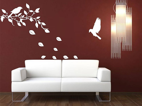 Spilled Leaves  Wall Sticker