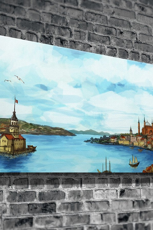 Old Istanbul  Canvas Printings