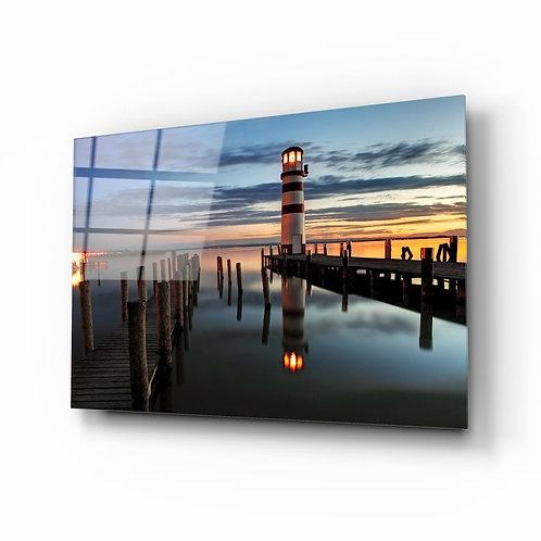Lighthouse UV Printed Glass Printing