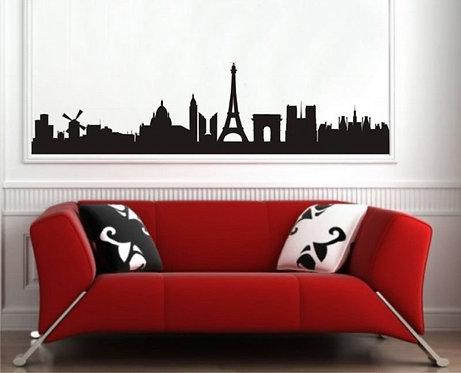 Paris Silhouette  Wall Sticker