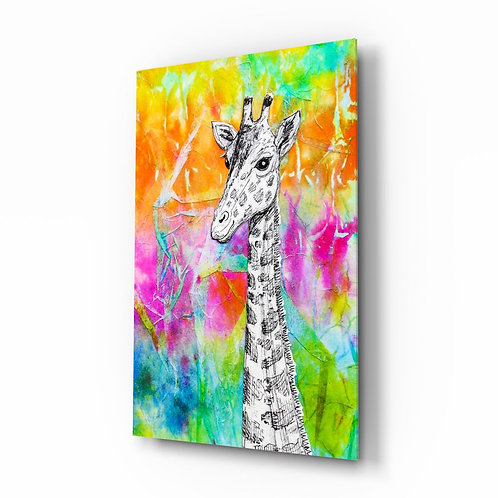 Giraffe UV Printed Glass Printing