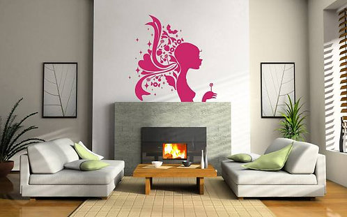 Candy Girl Wall Sticker