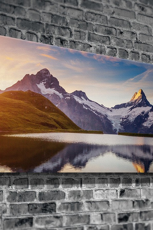 Snowy Mountain  Canvas Printings