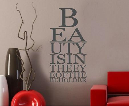 Beauty Wall Sticker
