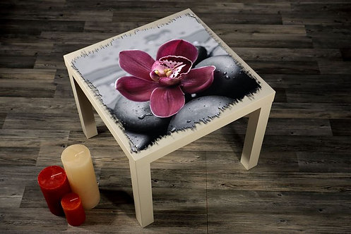 Orchid Printed Coffee Tables