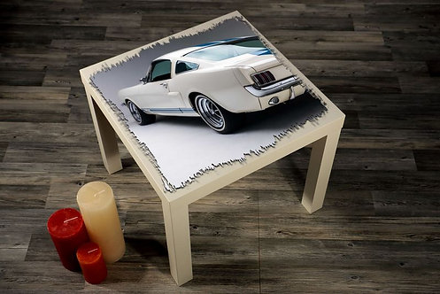 Classic Car Printed Coffee Tables