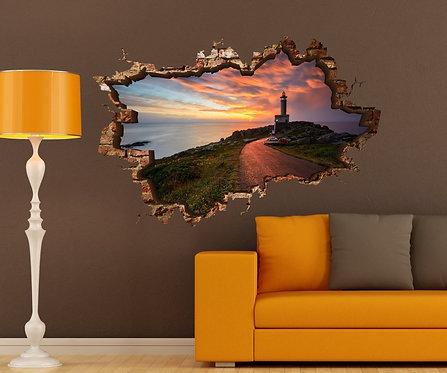 Lighthouse 3D Wall Sticker