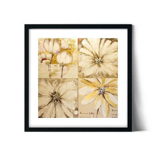 Flowers Framed Painting