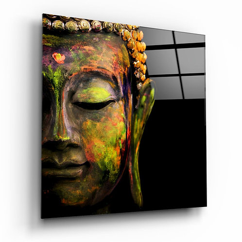 Buddha UV Printed Glass Printing