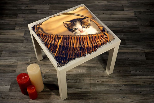 Cat Printed Coffee Tables