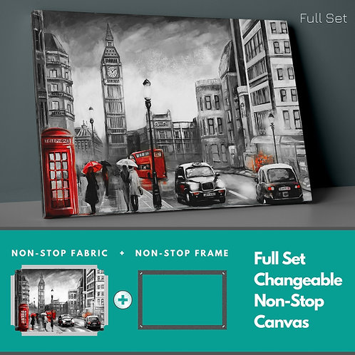 Telephone Booth Non-Stop Canvas Printings
