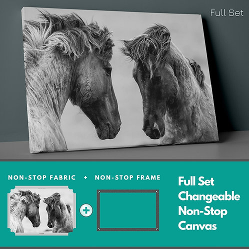 Horses Non-Stop Canvas Printings