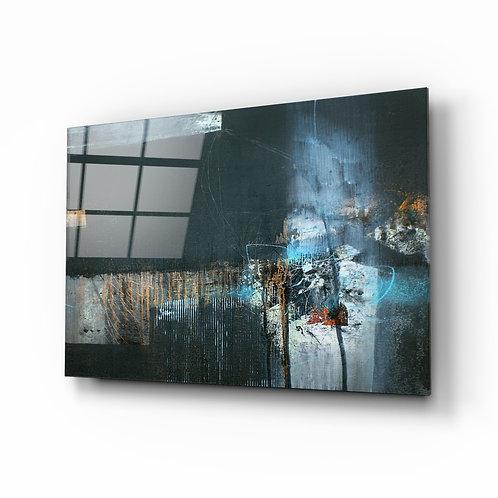 Abstract Art Glass Printing