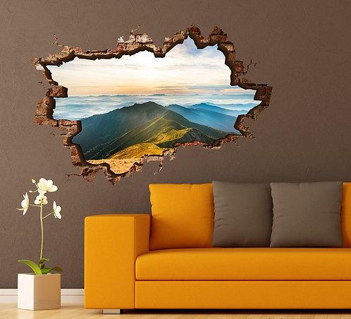 Mountains 3D Wall Sticker