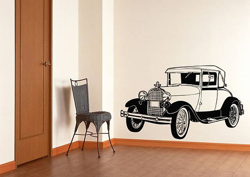 Classic Car Wall Sticker