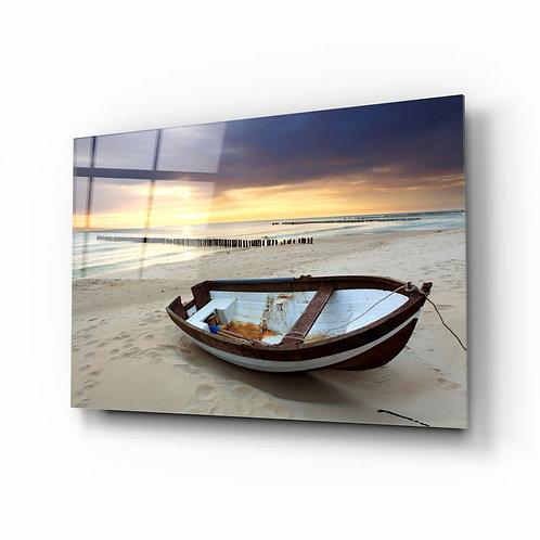 Beach UV Printed Glass Printing