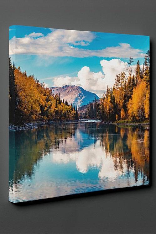 Mountain Lake Landscape Canvas Printings