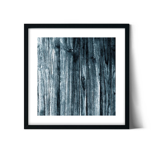 Wood Texture Framed Painting