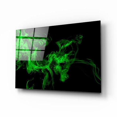 Green Smoke UV Printed Glass Printing