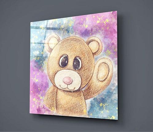 Bear UV Printed Glass Printing