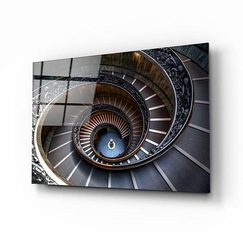 Spiral Glass Printing
