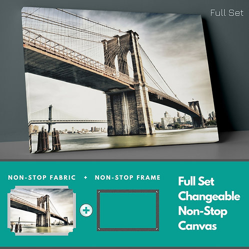 Hyperlinks Non-Stop Canvas Printings