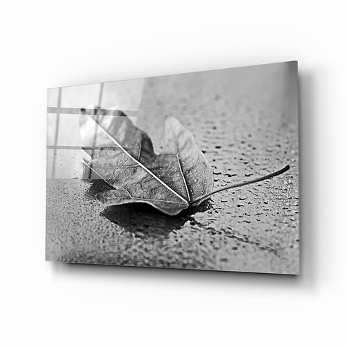 Leaf UV Printed Glass Printing