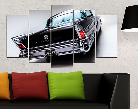 Classic Buick 5 Pieces MDF Painting
