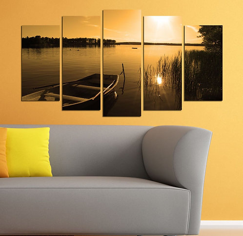 View 5 Pieces MDF Painting