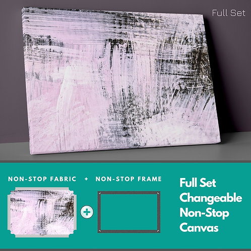 Abstract Pink Background Non-Stop Canvas Printings