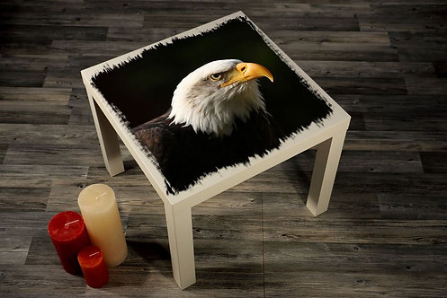 Hawk Printed Coffee Tables