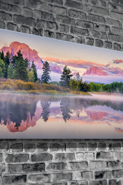 Foggy Mountains  Canvas Printings