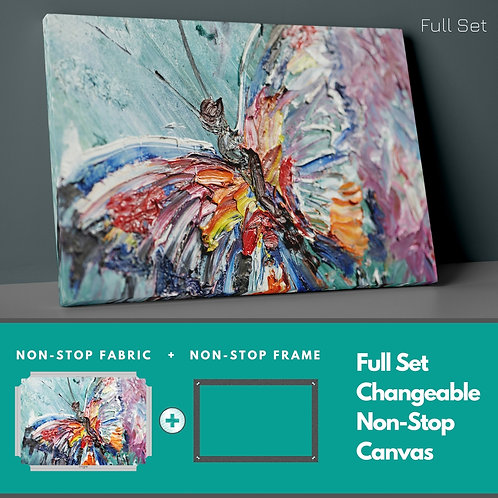 Butterfly Non-Stop Canvas Printings