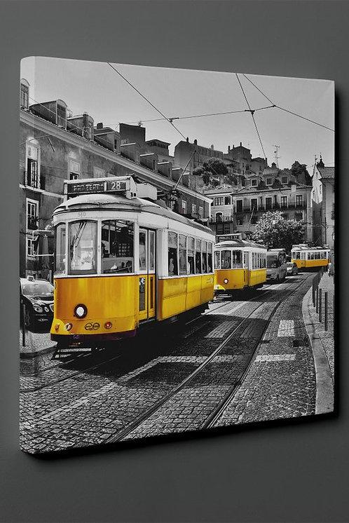 Basel Tramway Canvas Printings
