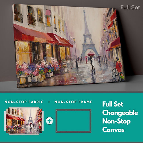 Autumn �n Paris Non-Stop Canvas Printings