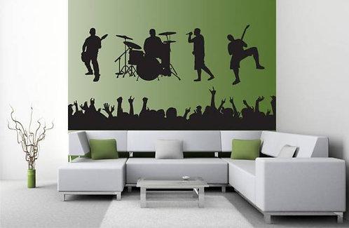 Concert Wall Sticker