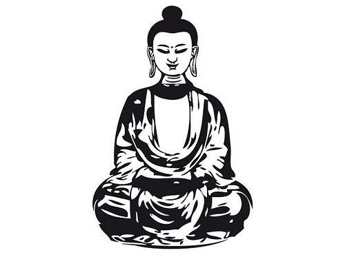Buddha Wall Sticker