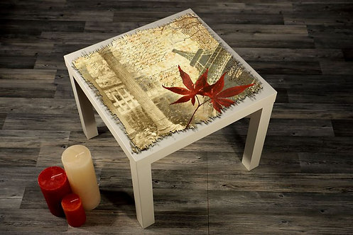 Eiffel Printed Coffee Tables
