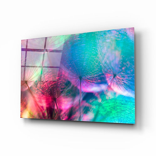 Dandelion UV Printed Glass Printing