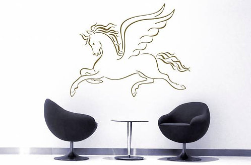 The Winged Horse Wall Sticker