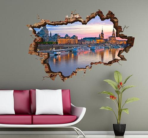 Dresden 3D Wall Sticker