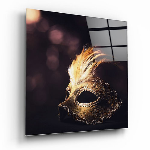 Ball Mask UV Printed Glass Printing