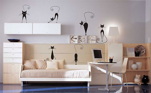 Cats Package  Wall Sticker