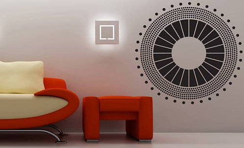 Modern Apartment Wall Sticker