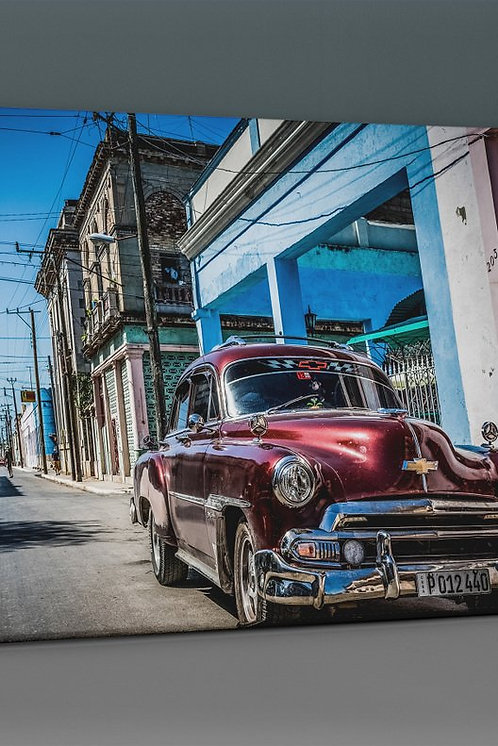 Classic Chevrolet (Red) Canvas Printings