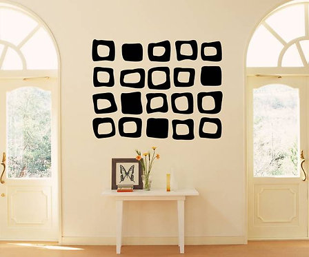 Squares Wall Sticker