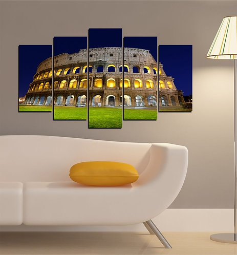 Colosseum (2) 5 Pieces MDF Painting
