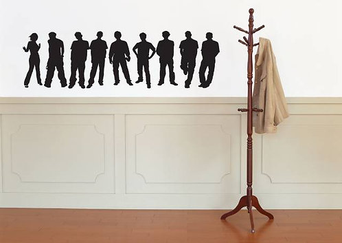 People Wall Sticker