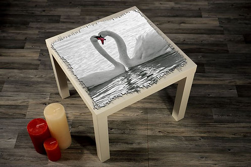 Swans Printed Coffee Tables